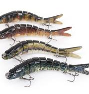 Original Fishing Lure Eight Segment Trout Fish