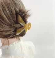 The temperament of large Korean hair clip