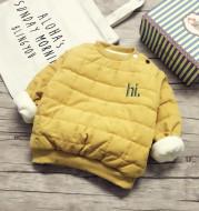 Winter cotton-padded jacket for children