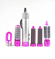 Multifunctional Electric Hair Dryer Blow Dryer Hair Curling Iron Rotating Brush Hairdryer 5 In 1