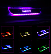 Wireless Car Door Welcome Pedal Led Atmosphere Light Sill Strip