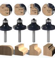 Jump 4-Piece Set Of Line Knife Table Corner Line