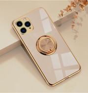 Original Silicone Cover For iPhone 12 12 Pro Cover Case For iPhone 12 mini 11 Pro Max luxury Plating Phone Case for iphone11 Max