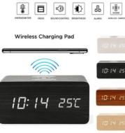 Wireless charging clock