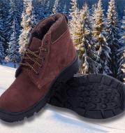 Steel toe cap cotton shoes