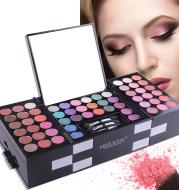 MISS ROSE 144 color 3 color 3 Color Eyeshadow blush eyebrow makeup makeup makeup kit special wholesale
