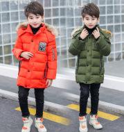 Children's warm down jacket