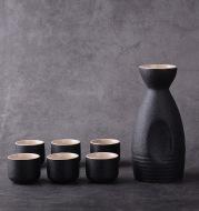 Sakura vintage sake set