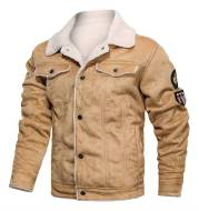 Fur integrated leather clothing