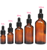 Brown dispensing lotion cosmetic essential oil bottle
