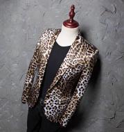 New printed leopard print dress