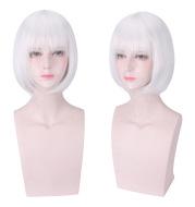 cosplay wig silver grey