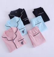 Children's pajamas cotton baby home service