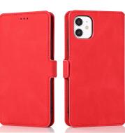 Retro flip phone leather case