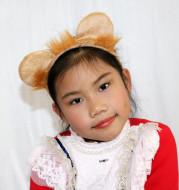 Masquerade performance props lion headband headdress