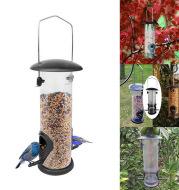 Outdoor Hanging Bird Feeder Automatic Pet Parrot Portable Feeder Dispenser
