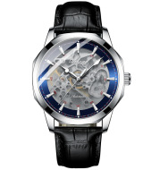 Men's Automatic Fully Hollow Mechanical Watch