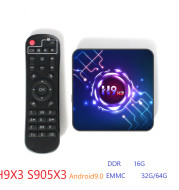 H9 X3 S905X3 Android 9.0 4G, 64G 8K  TV BOX