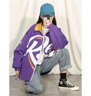 Monogrammed baseball jacket