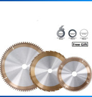 Hard and Soft Multifunctional Bronze Circular Saw Blade