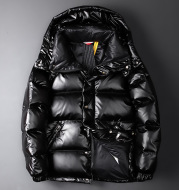 Glossy Down Jacket For Young Men And Women Couples