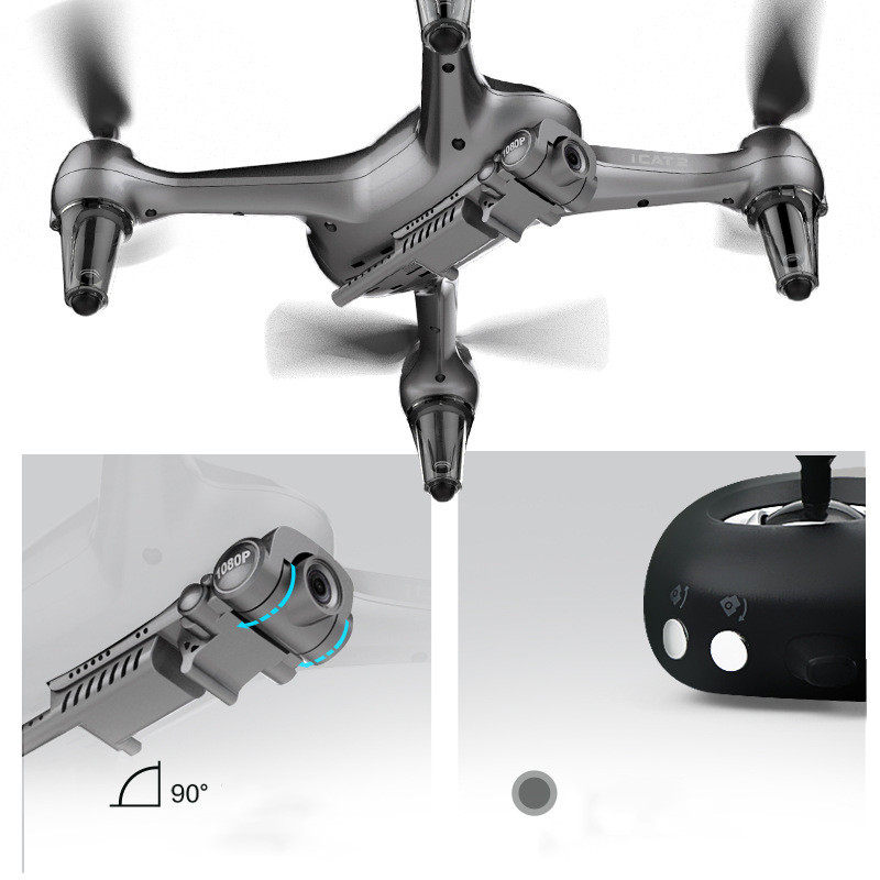 Icat2 Intelligent and Precise Positioning High-definition Aerial Quadcopter Drone