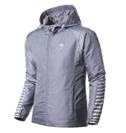 Printed outdoor jacket