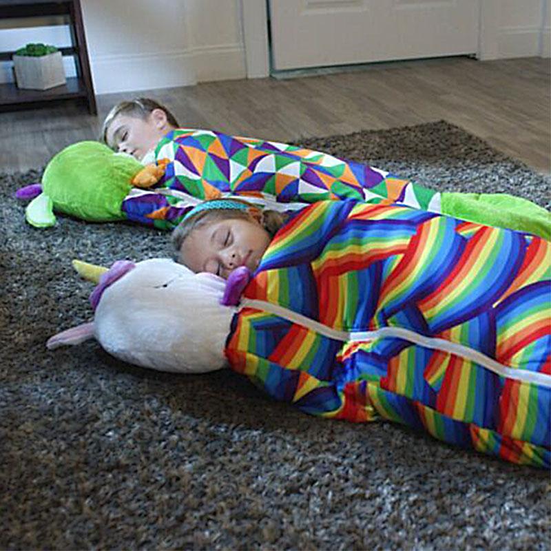 kids animal sleeping bag