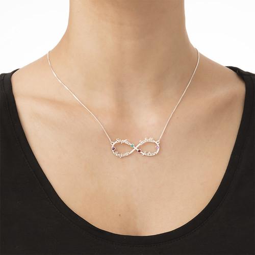 Halskette mit Namen, unendlicher Name, Unendlichzeichen |
