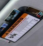Tempat Kartu Untuk Mobil Card Holder Organizer Model AirBag