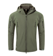 Antarctica Mens Outdoor Waterproof Soft Shell Hooded Military Tactical Jacket