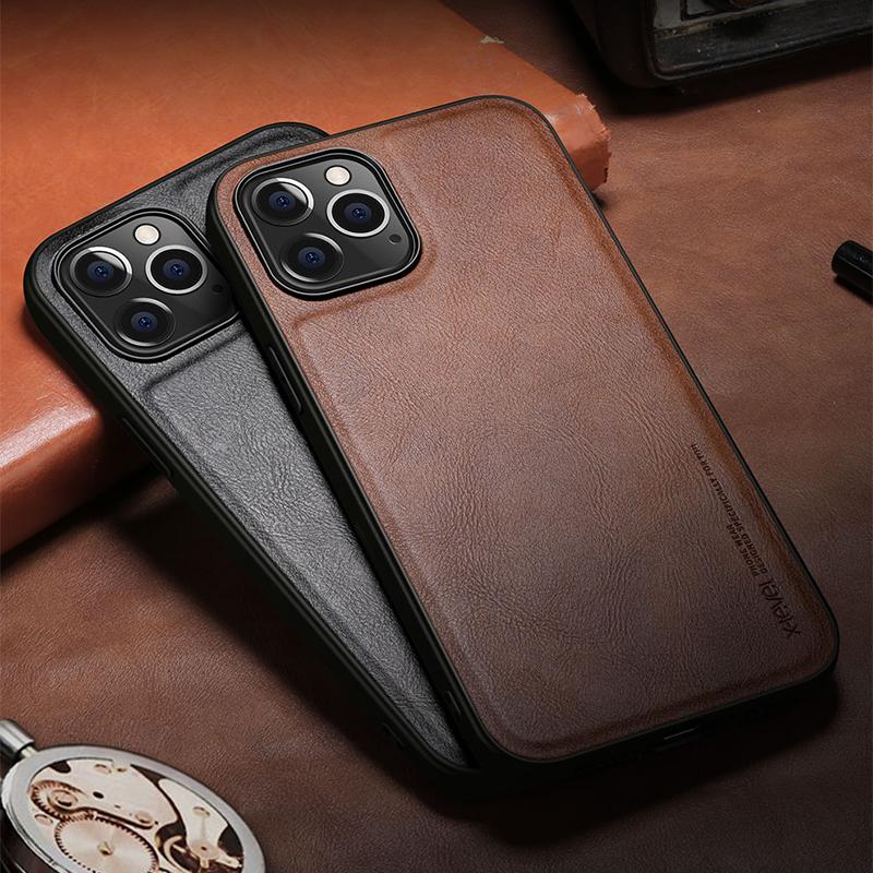 Business Leather iPhone 12 Case Mini - Pro - Pro Max