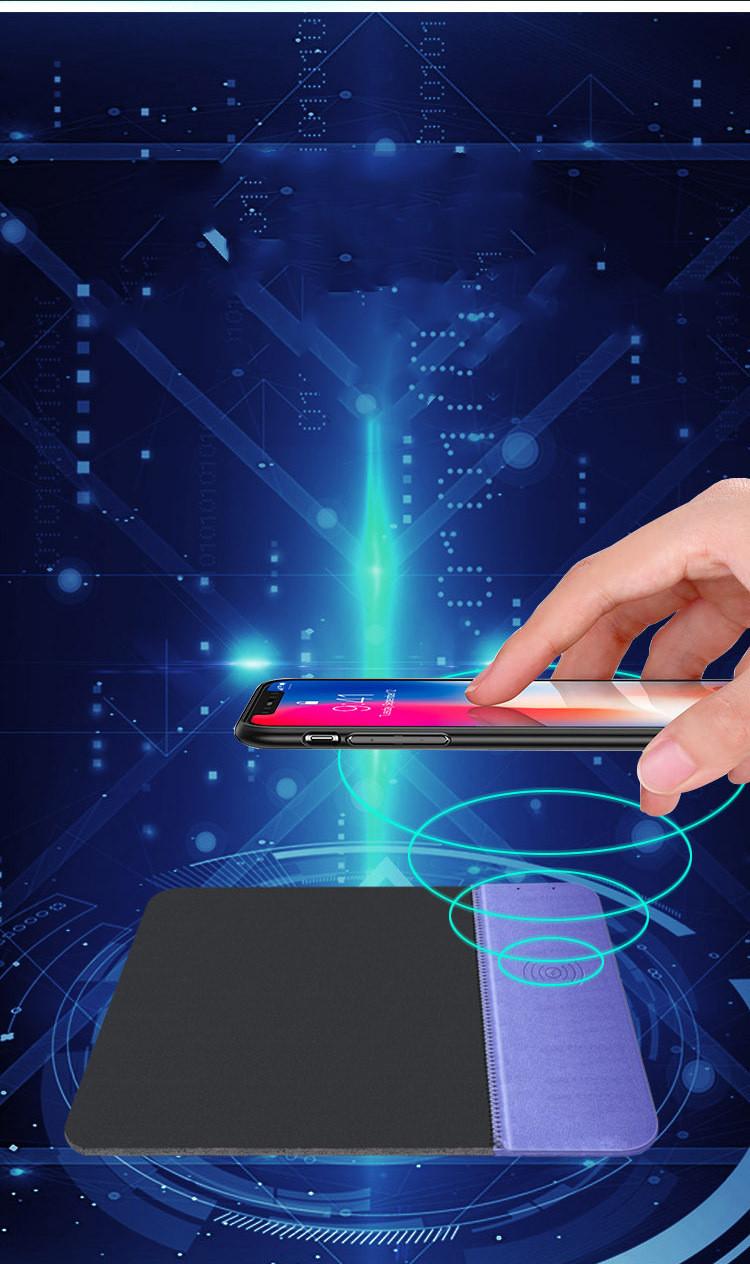 téléphone qui se recharge grâce à votre tapis informatique