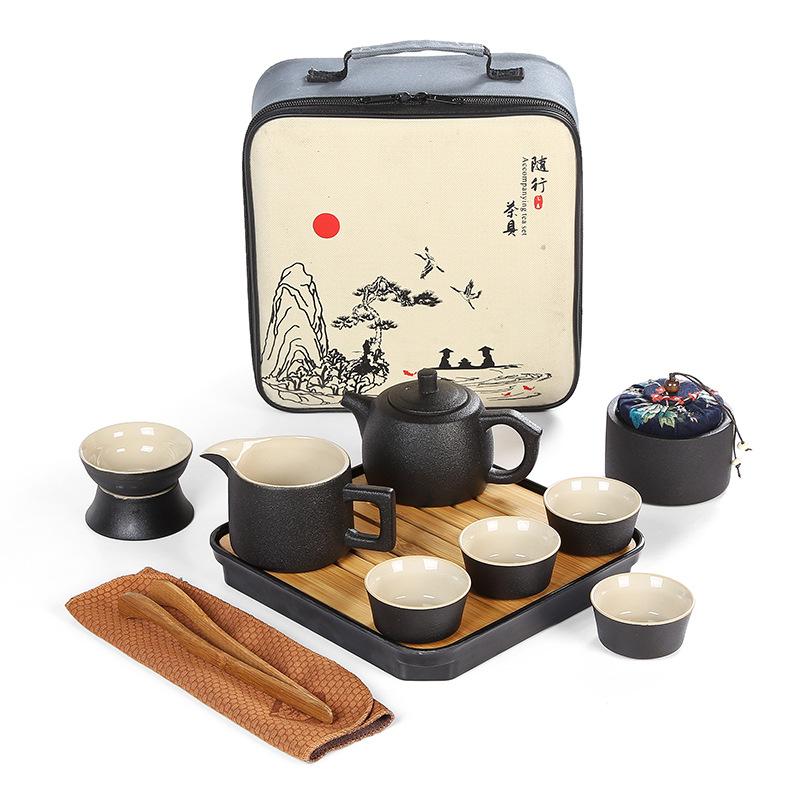 Juego de té cerámica japonesa estilo 4.