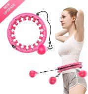 Smart Sport Hoop Detachable Adjustable Auto Spinning Thin Waist Abdominal Exercise Gym Hoop Fitness Equipment Home Training