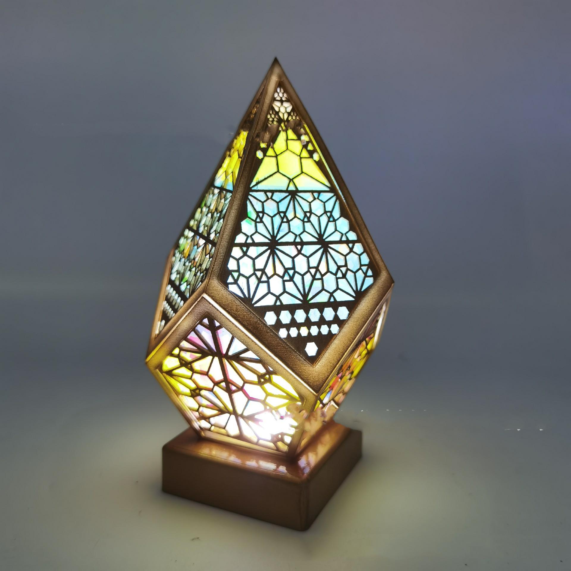 Bohemian Style Projector Lamp 13
