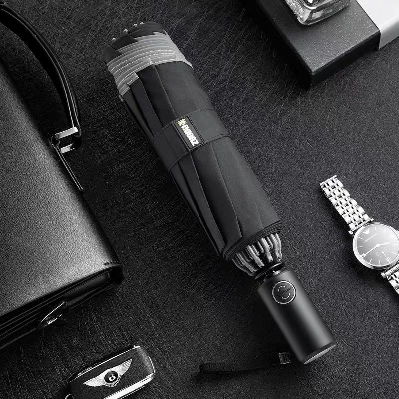 Wristwatch - LED Flashlight Lighting Umbrella