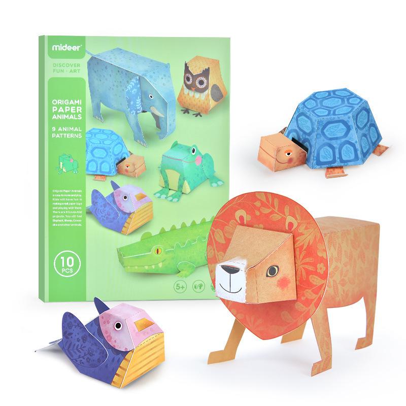 Libro manualidades origami 9 animales 3D_portada_libro