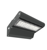 LOD-MSL-WP40W-50K - ASSEMBLED IN USA SERIES 40W LED WALL PACK, 5000K, 5,418LM, 144.97LM/W, 120-277VAC, PHOTOCELL INCLUDED, IP65, CRI 72.6, BEAM ANGLE 70/135 DEGREES, ETL & DLC PREMIUM LISTED