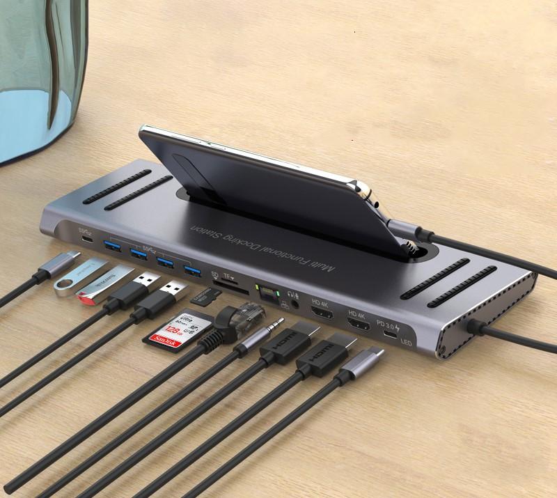 USB-C Hub Docking Station