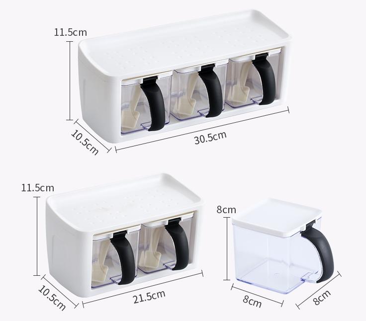 310f2ac3 abed 4cd2 a05f 2f9b7651db9f - Contenedor de almacenamiento de cocina para condimento de hierbas