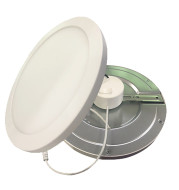 LOC-12RDDL-21WMCCT - LED 12 INCH SURFACE MOUNT DOWNLIGHT, 21W, MULTI-CCT 2700K, 3000K, 3500K, 4000K,,5000K, 1,800LM, DIMMABLE, 120V, CRI80, UL & ENERGY STAR LISTED