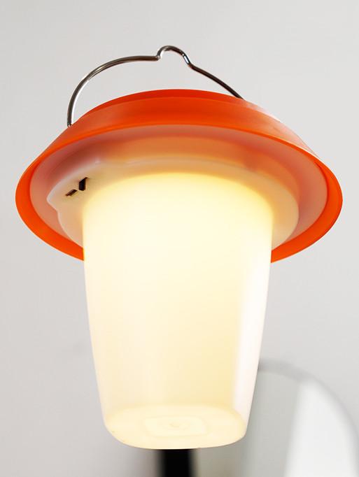 Solar-Powered Portable Lamp