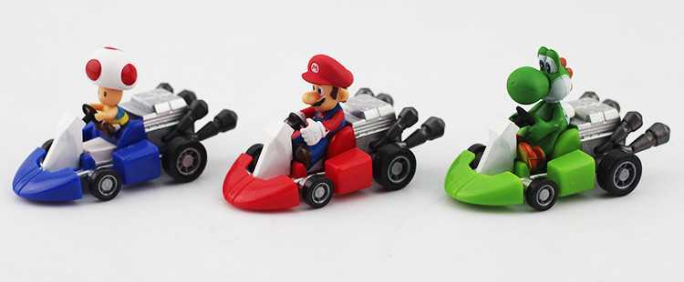 Super Mario Pull Back Cars Set 10pcs