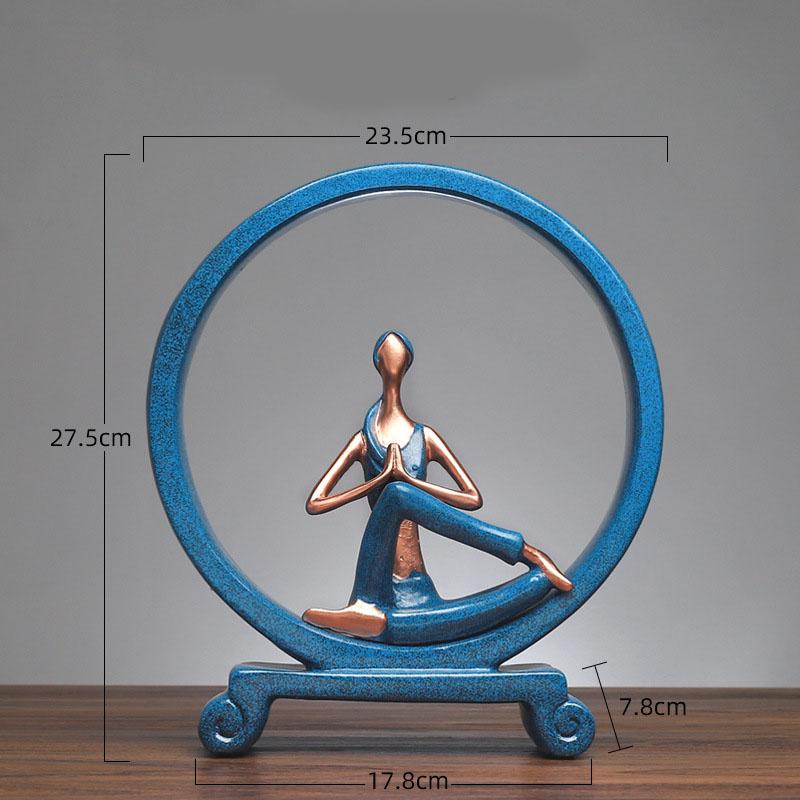 Yoga Figure Ornaments 17