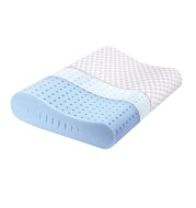 Memory Foam Pillow, Cervical Pillow for Neck Pain, Orthopedic Contour Pillow Support for Back, Stomach, Side Sleepers, Pillow for Sleeping, CertiPUR-US