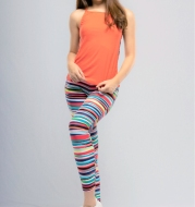Spotted Women Knitted Pants Brand HYDRA