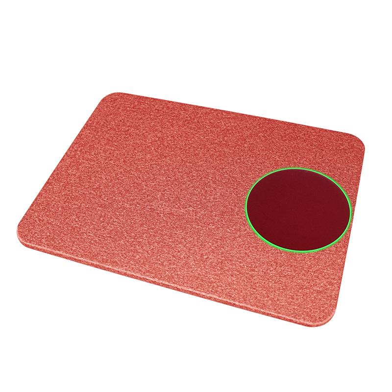 support pour souris induction rouge