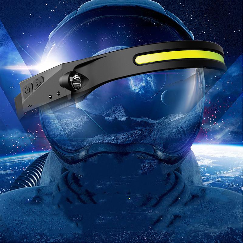 Waterproof Full Vision Headlamp and Flashlight 1