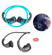 Sports Headset Waterproof Ear Headphones Earphones Earbuds Wireless Bluetooth
